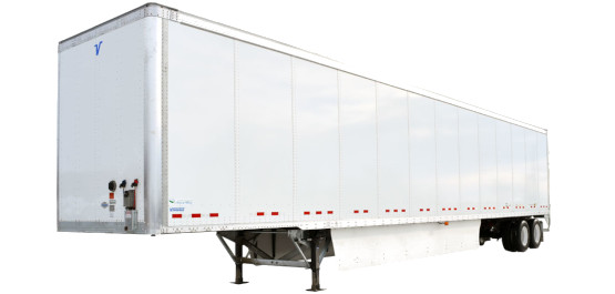 Dry van trailers, temperature controlled trailers, flat